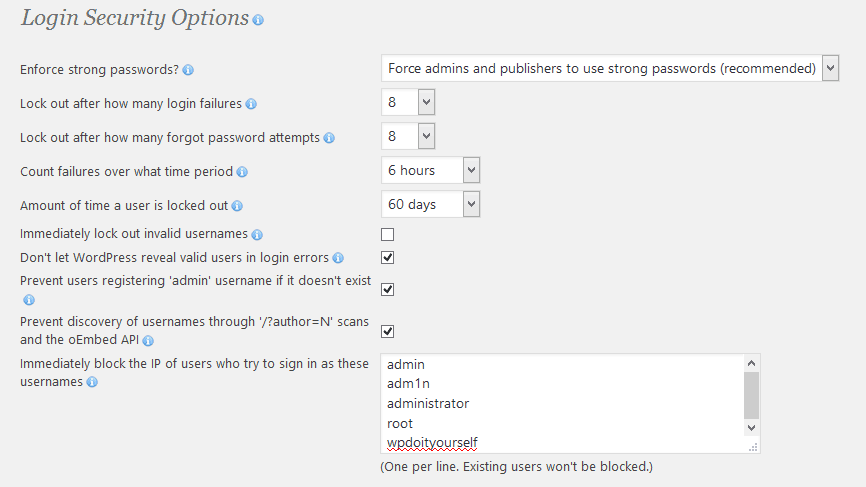 Hackers attempt to guess my WordPress login name - foiled by WordFence and  other security plugins