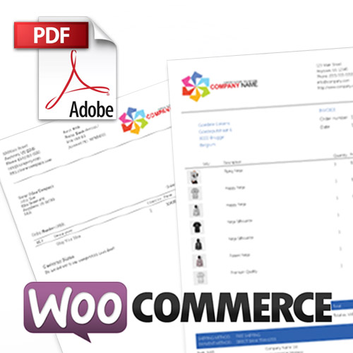 Add WooCommerce PDF Invoices Packing Slips WordPress ECommerce - Woocommerce invoice system