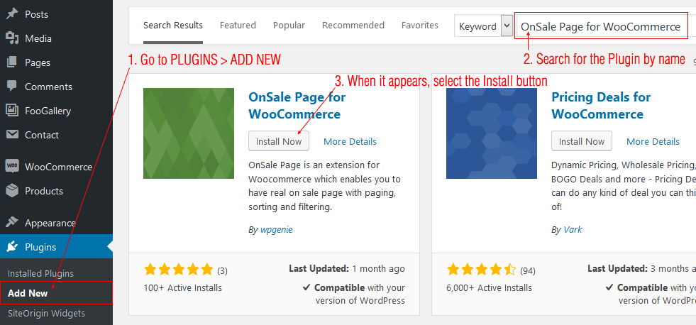 OnSale Page for WooCommerce - 1