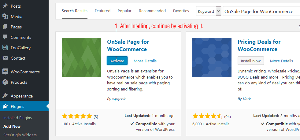 OnSale Page for WooCommerce - 2