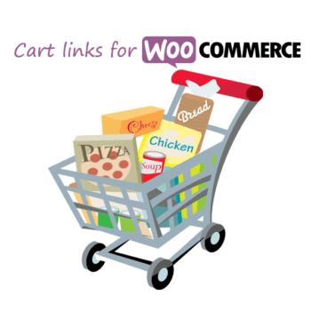 Cart links for WooCommerce